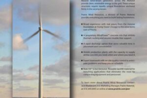 Wind farm ad