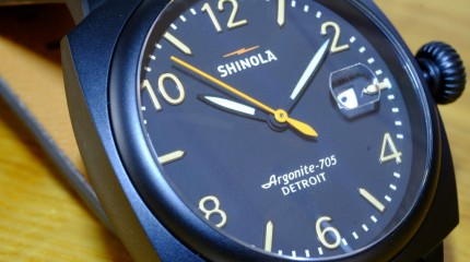 SHINOLA- A Watch made in Detroit- USA